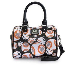 NWT Loungefly Star Wars BB-8 Duffle Bag.